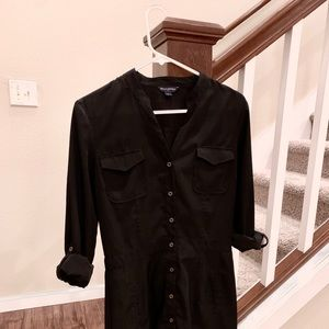 Black shirt dress. Great condition.
